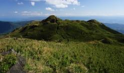 Pohľad z Mt. Qixing - najvyššieho vrcholku Národného parku Yangmingshan