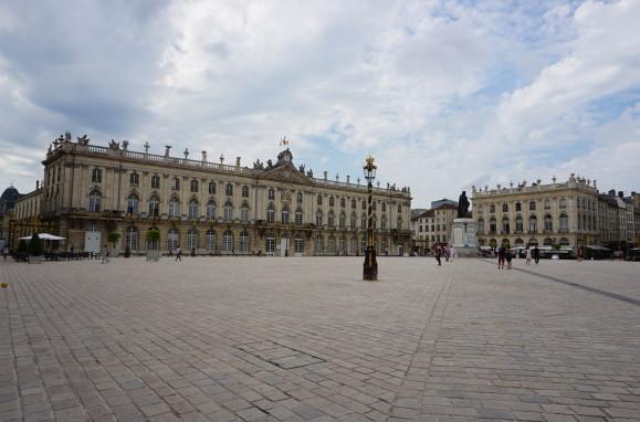 Stanislavovo námestie (Place Stanislas) v Nancy