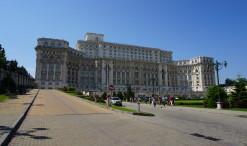 Rumunský parlament v Bukurešti