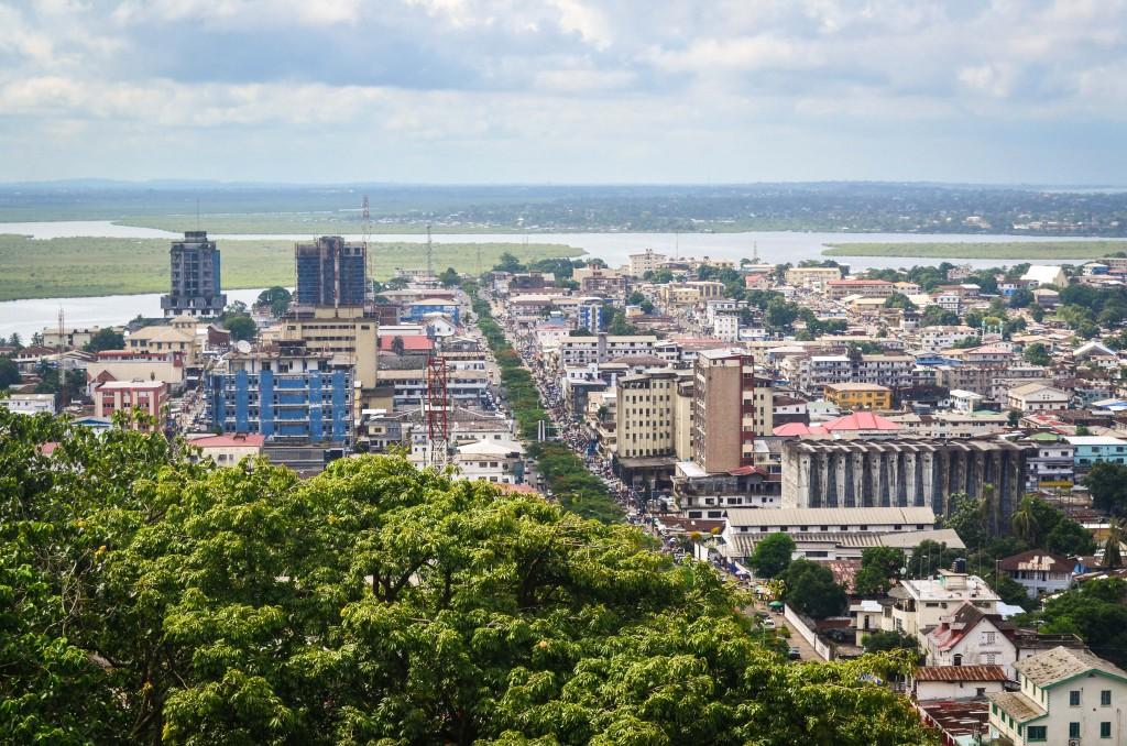 Monrovia, hlavné mesto Libérie (Zdroj: Wikipedia)